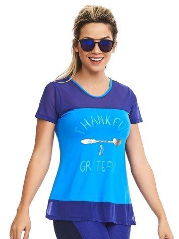CAJUBRASIL Top 8148 Thankful – Sexy T-Shirt – Sexy Yoga Top