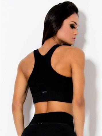 CANOAN  Sports Bra TOP 70018 BK Purple Sexy Workout Tops