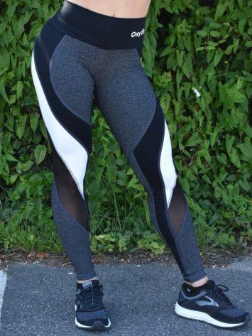 OXYFIT Leggings Reach 64123 Charcoal Heather – Sexy Workout Leggings