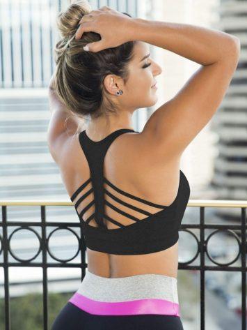 OXYFIT Bra Top Running 27072 Black – Sexy Sports Bras