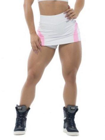 BFB Activewear Skort Skirt Dolce Shape – White