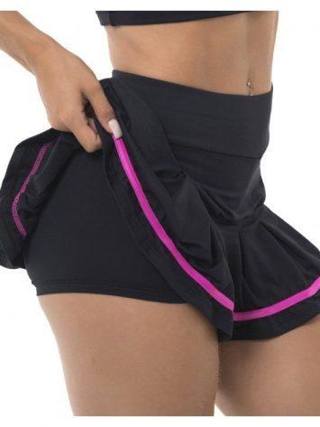BFB Activewear Skort Juju Short Skirt – Black