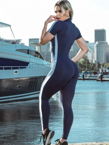 DYNAMITE Jumpsuit ML2095 Wabash Fitness Overalls - One-Piece