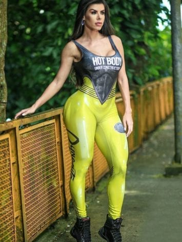 DYNAMITE BRAZIL Jumpsuit  Macacao Vidoni – Yellow