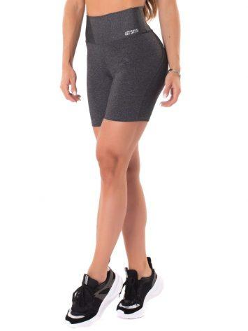 Let's Gym Fitness Move & Slay Shorts – Black