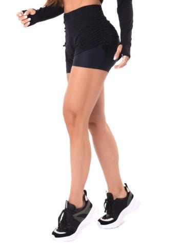 Let's Gym Fitness Savage Feels Shorts – Black