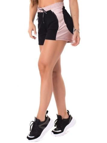 C1Let's Gym Fitness Sweet Glow Shorts – Black/Rose
